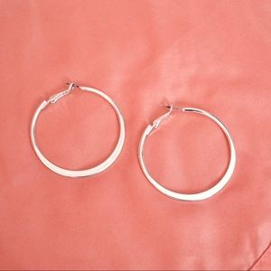 OLD NAVY SILVER HOOPS